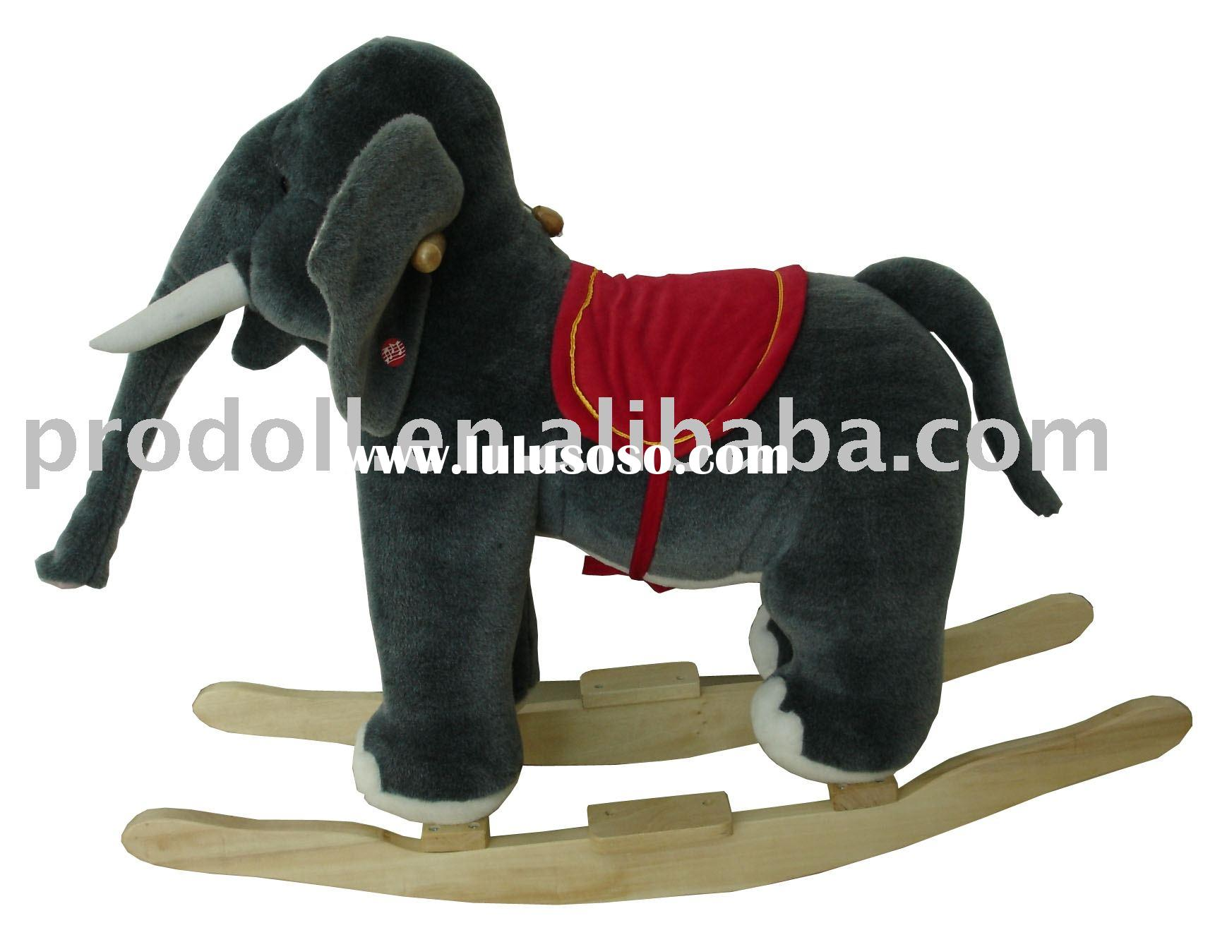 Rocking elephant,Plush Rocking Horse,rocking horses,plush rocker,rocking animal
