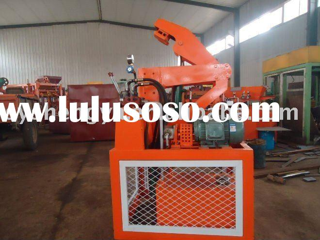 SY1-20Hydraulic Interlocking Block Making Machine clay or concrete block making machine