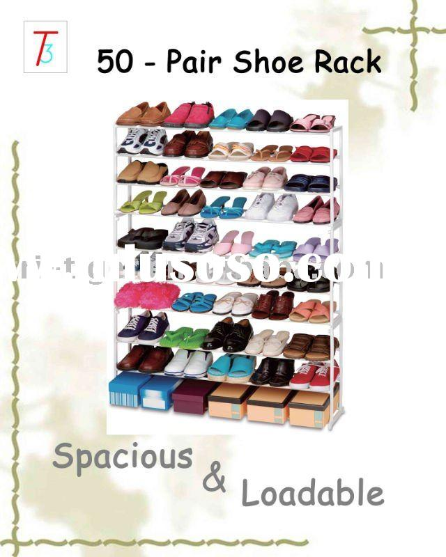 Simple fashion design shoe rack