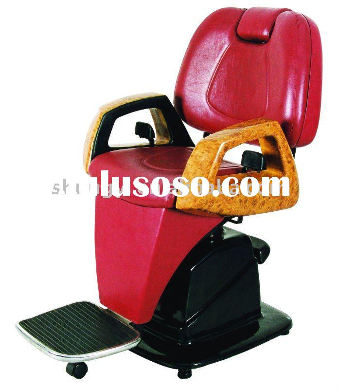 Strong Red Salon Barber Chair