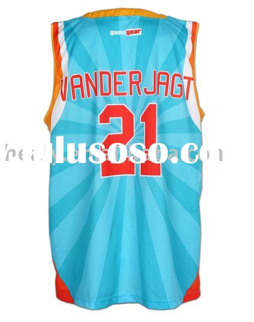 Sublimation Basketball Uniform, , Basketball Jersey,