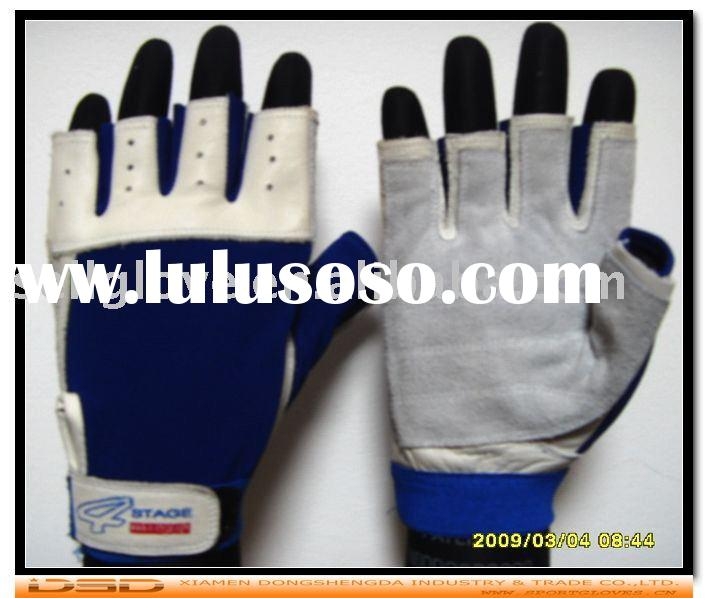Summer bicycle gloves, leather racing gloves, bicycle racing gloves