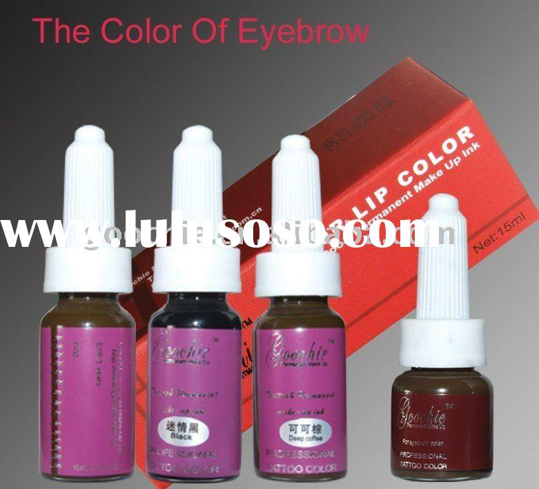 Tattoo&Permanent Makeup Eyebrow Pigment factory