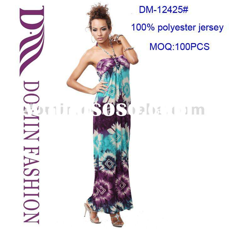 Tie dye floral jersey dresses,print Maxi dress,Plus size available