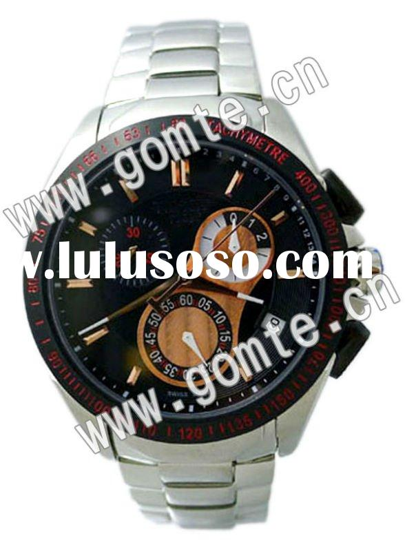 Trendy stainless steel wrist automatic men watches 2012