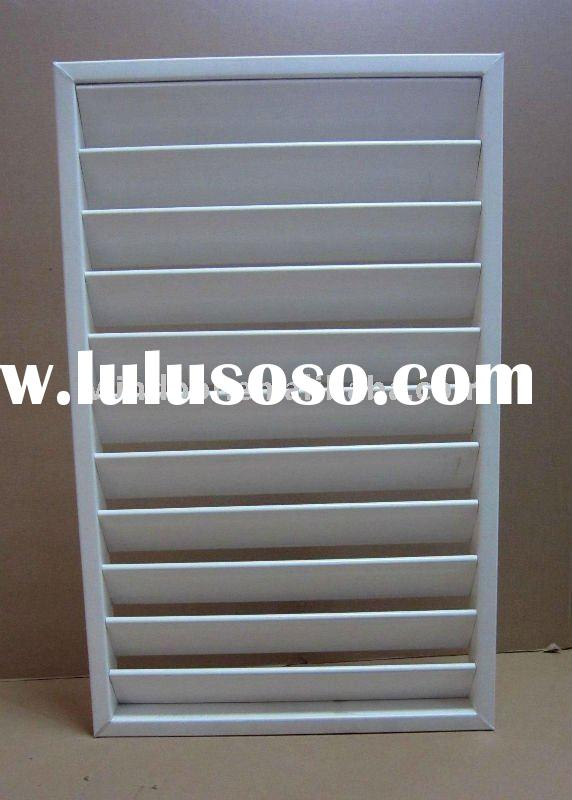 UPVC jalousie windows