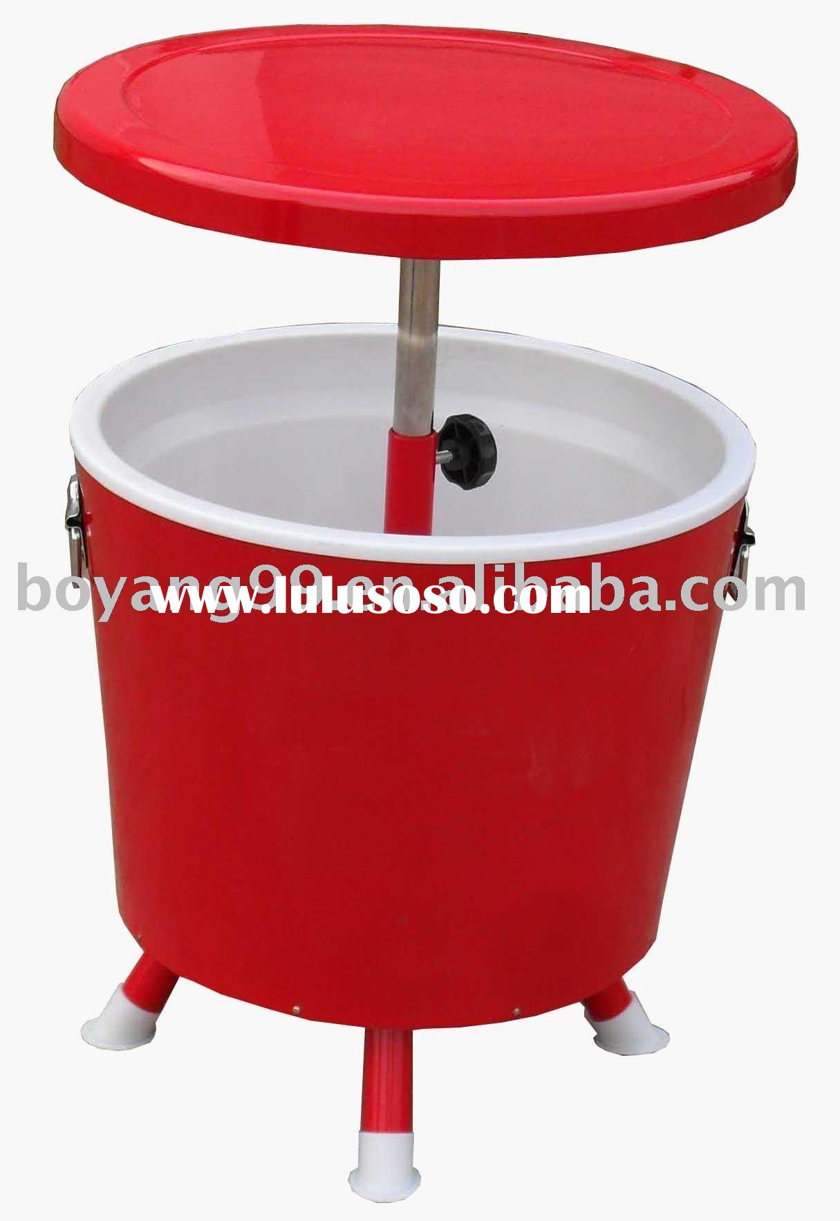 Patio Bar Table Cooler, Patio Bar Table Cooler Manufacturers In ... Oakland  Living Stainless Steel Ice Bucket ...