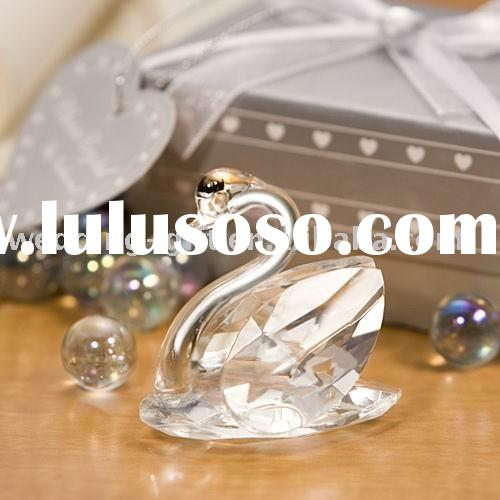 Wedding decoration of Choice Crystal Swan Favors gift