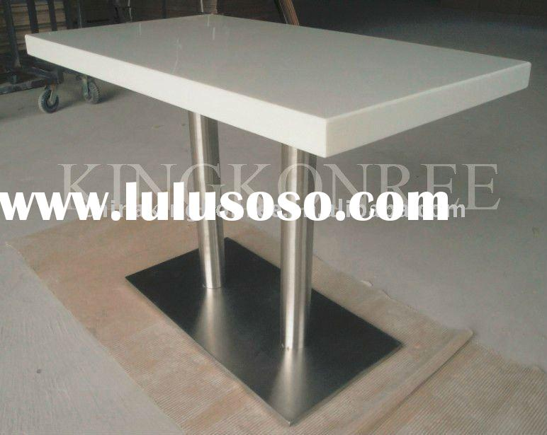 white corian table top