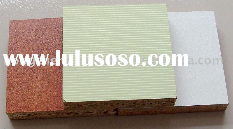 White melamine Particle board 18mm