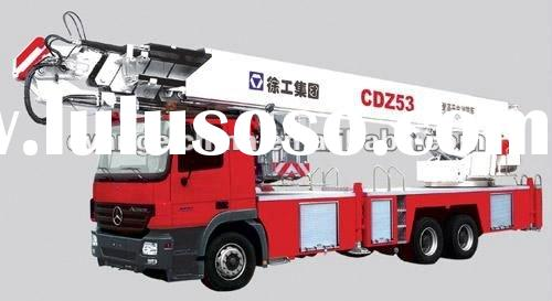 XCMG CDZ53 Aerial Platform ladder Fire Fighting Truck with 53m ,Fire engines