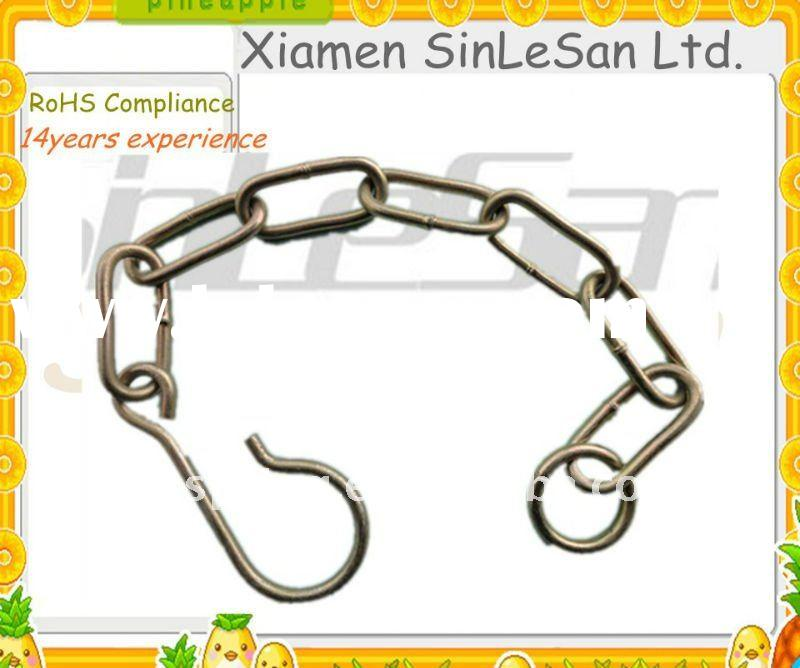 Xiamen spring metal clip with golden(over ten years manufacture experience)