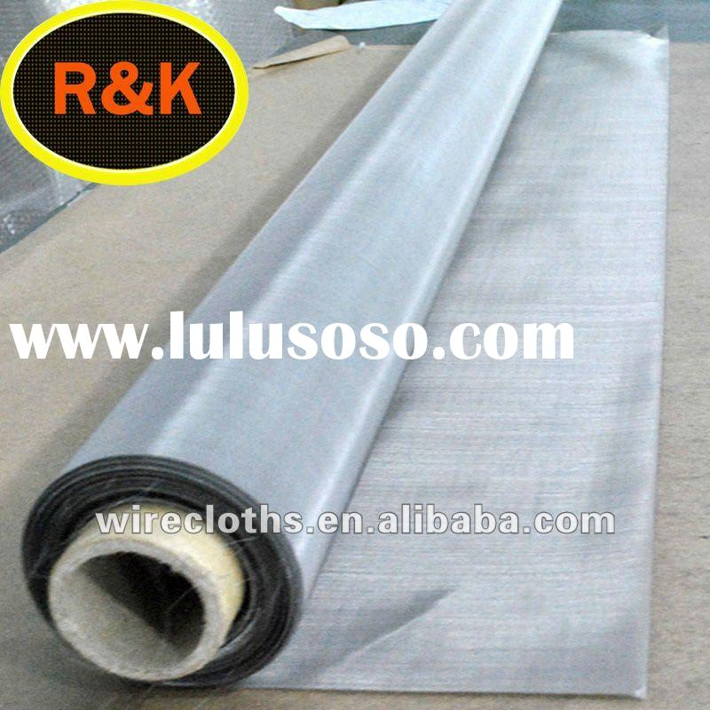 (304N,316L) 1-600 mesh stainless steel wire cloth
