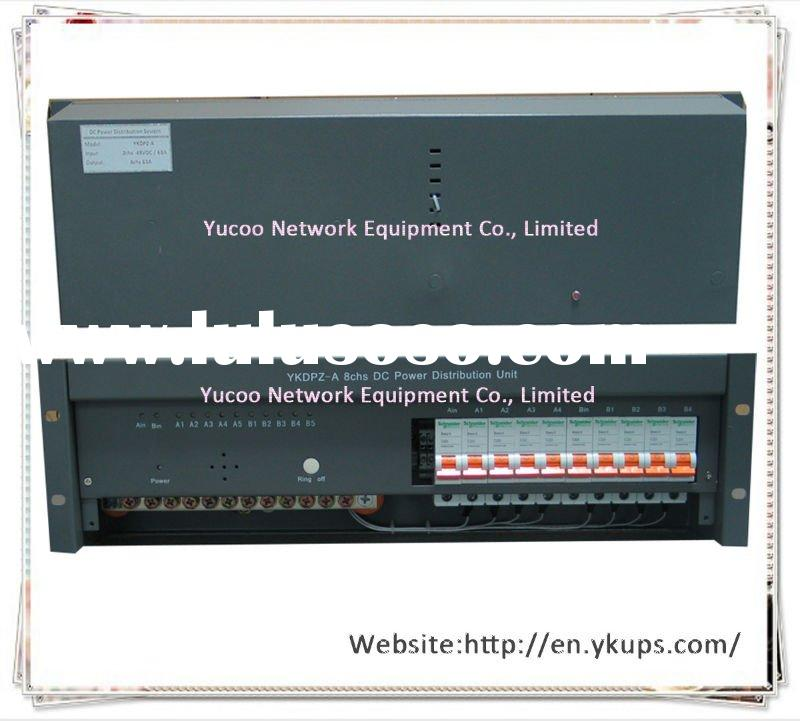 (YKDPZ-A) with high efficiency 8chs DC Power Distribution Panel