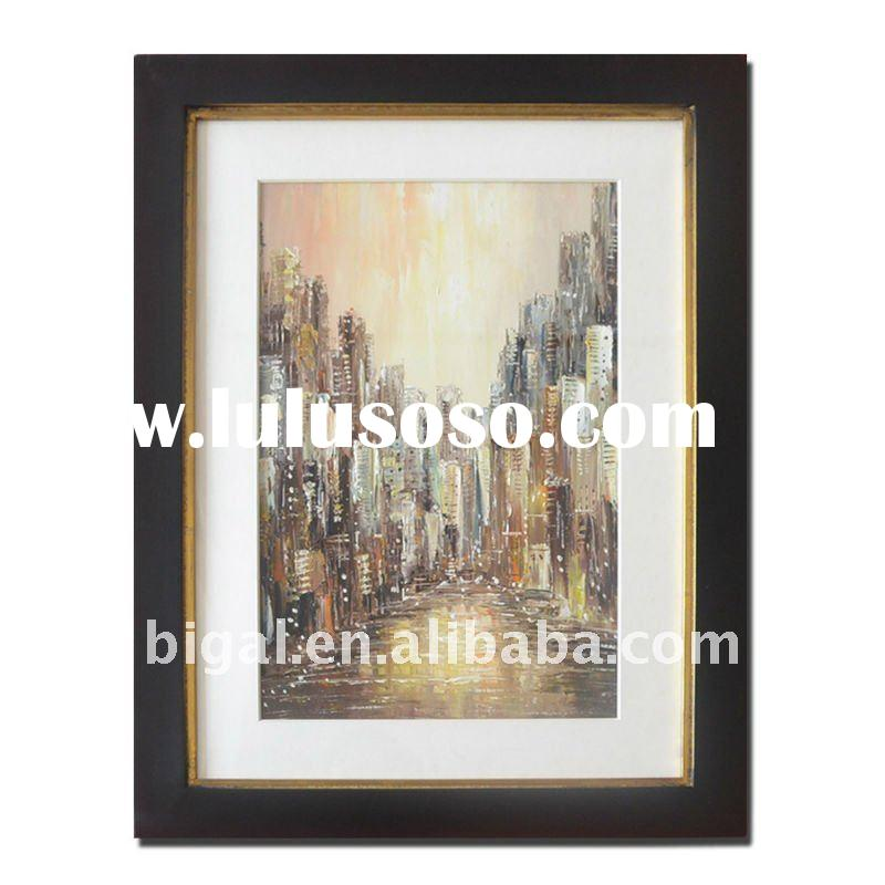 abstract wall painting designs with plexiglass