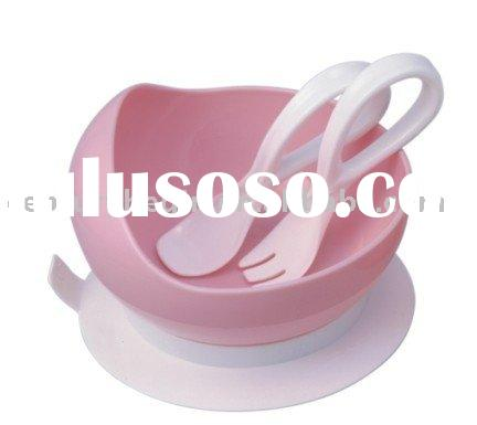 baby Suction Bowl baby Bowl with fork and spoon