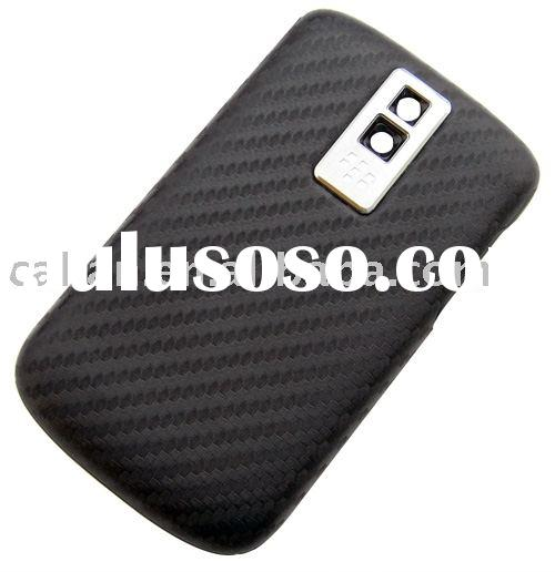 battery door cover for 2009 Newest style BlackBerry Bold 9000(silver carbon fiber)