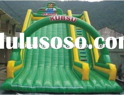 beautiful Inflatable bouncer slide for kids with high quality