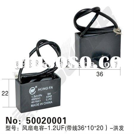 capacitor for electric fan parts 450V 1.2UF