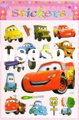 car body 3D sticker, car body sticker design, car PVC sticker