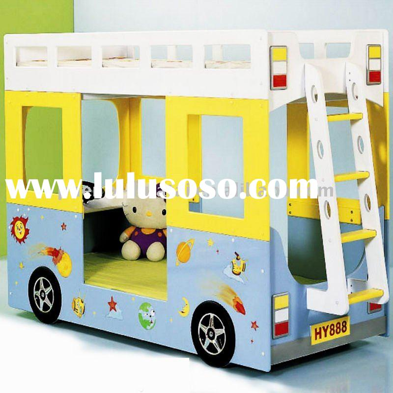 children bus bunk bed