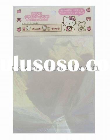 clear self adhesive seal gifts packing plastic polybag