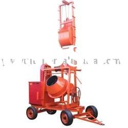 concrete mixer with-lift,diesel concrete mixer,portable concrete mixer