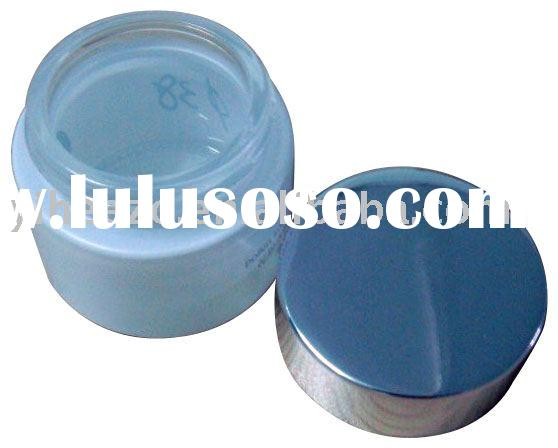 cosmetic packaging cream lotion bottle aluminium cap cover