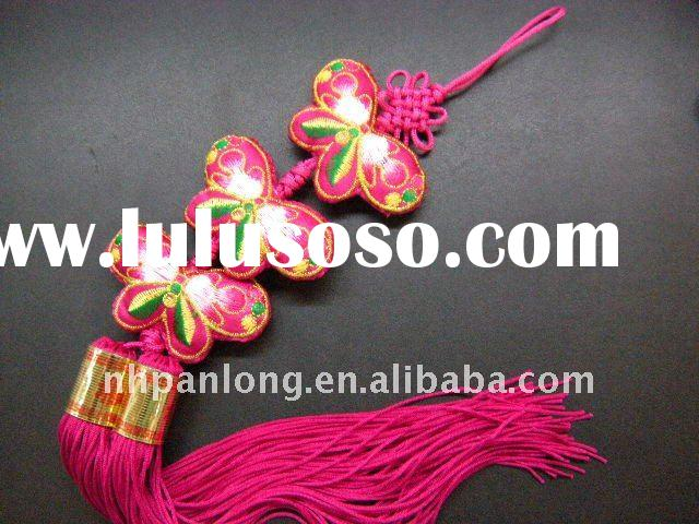 fashion chinese decoration knots chinese new year decoration items curtain birthday decoration items