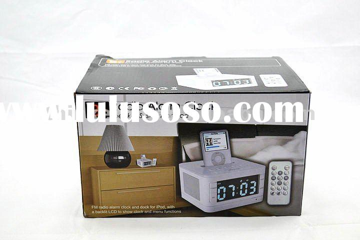 for iphone speaker docking station with alarm clock hot!