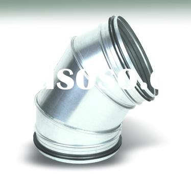 forged 60 degree elbow/ butt weld elbow/pipe fittings/spiral pipe elbow