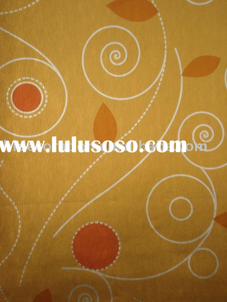 golden Wallpaper/KTV wallpaper/vinyl wallpaper/pvc wallcovering/pvc wall paper/decoration material