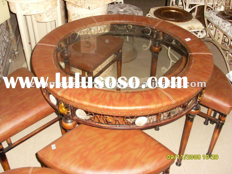 hot sale classical hand restaurant tables and chairs sale