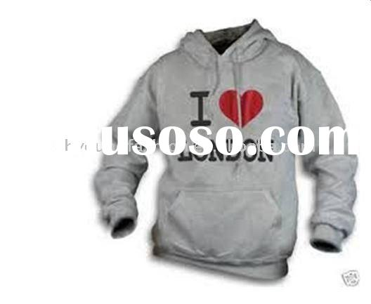 i love london olympic gray fashion fleece hoody,sweater with high quality ,long sleeve