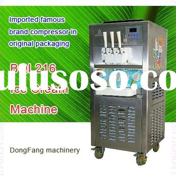 ice cream machine recipe BQL216 soft serve ice cream machine