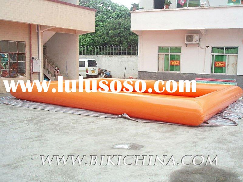 inflatable swimming pool equipment,giant swimming pool D2019