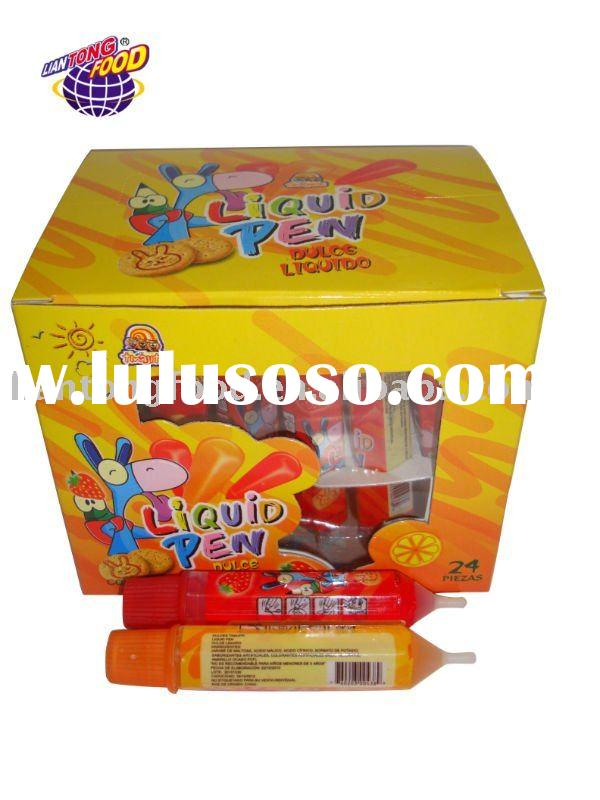 liquid pen jelly juice