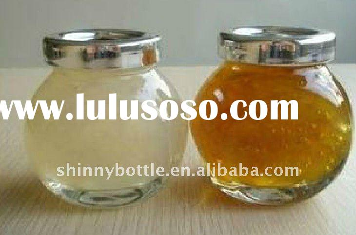 mini glass jar for honey glass honey container canister