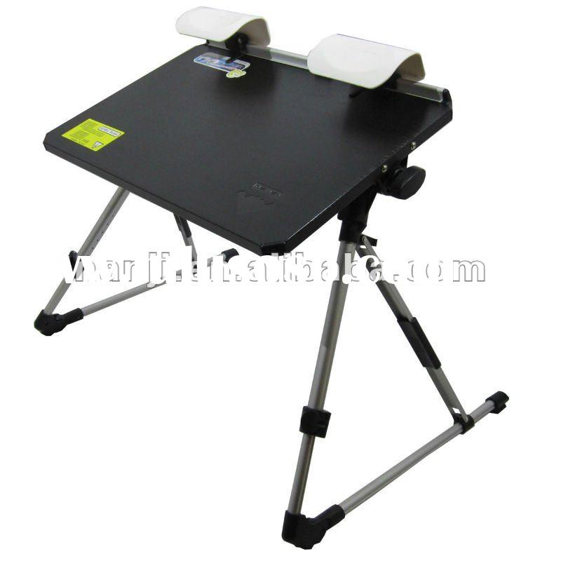 mini small laptop desk with wrist pad