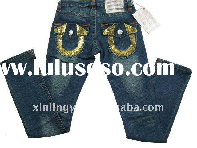 newest!brand name top quality low price woman fashion jeans dark blue