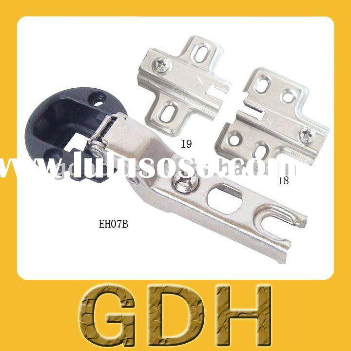 one way plastic cover glass hinge,glass door cabinet hinge