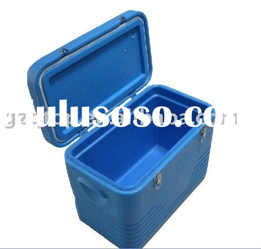 plastic cool box, car ice box, bar ice box