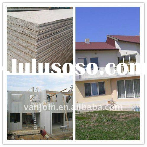 professional company for prefab house (eps sandwich panel for interior and exterior wall system)