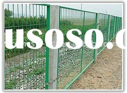 pvc coated grid fence /wire mesh /fence net (factory)