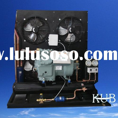 refrigeration unit with carrier compressor
