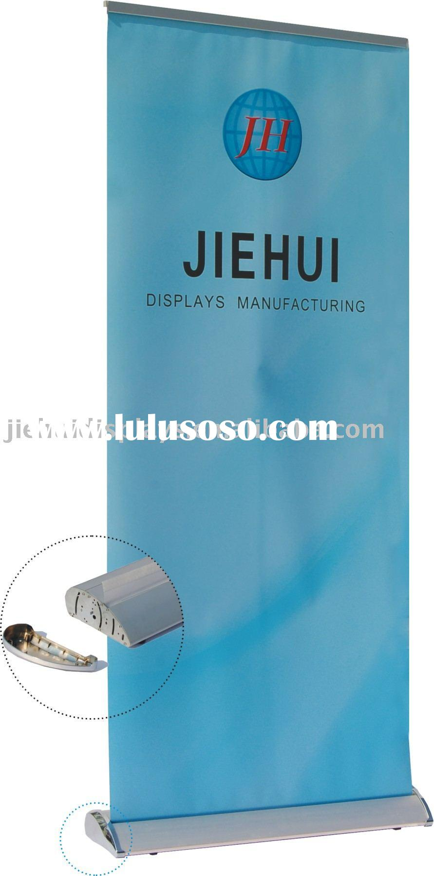 roll up banner stand(trade show display)