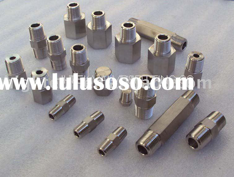 stainless steel pipe fitting,pipe nipple ,pipe plug