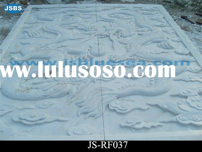 stone dragon relief carving sculpture