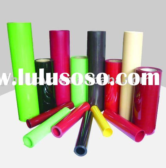 tansparent clear and color PVC rigid sheet/film/rolls for thermoforming,plastic packing