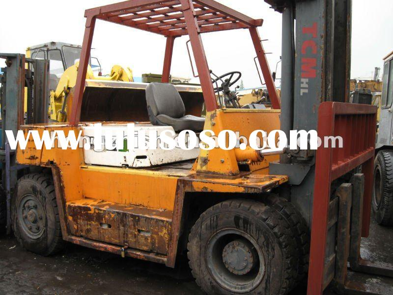 used TCM diesel forklift 6tons working capacity Made in Japan for sale